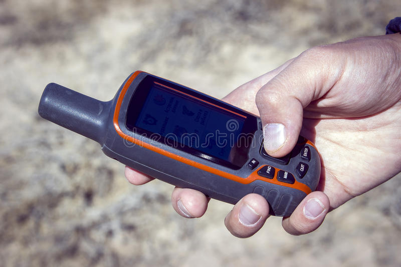 Navigation de GPS image libre de droits