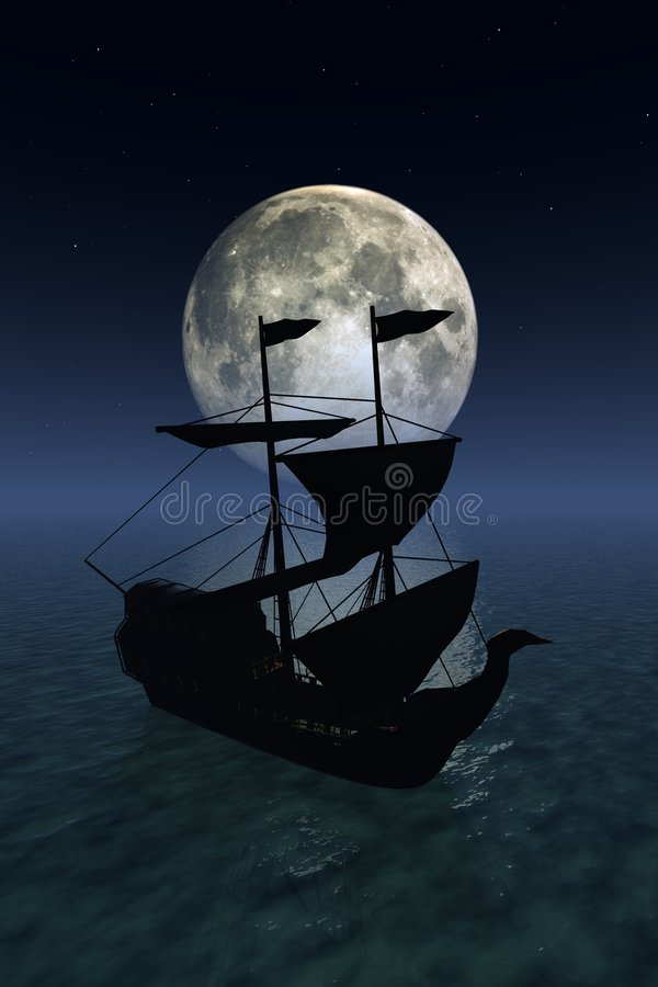 Navigation de nuit images libres de droits