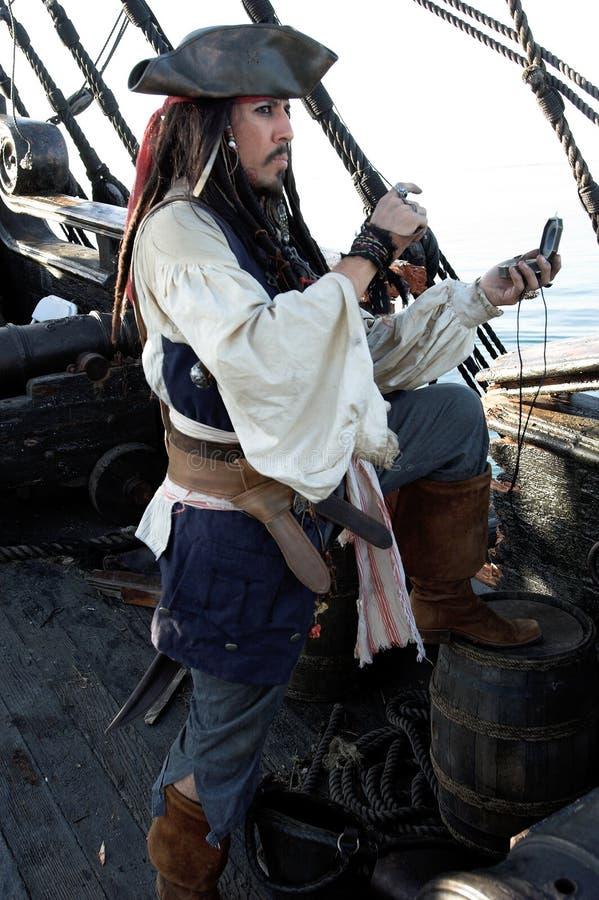 Navigation de pirate photographie stock libre de droits