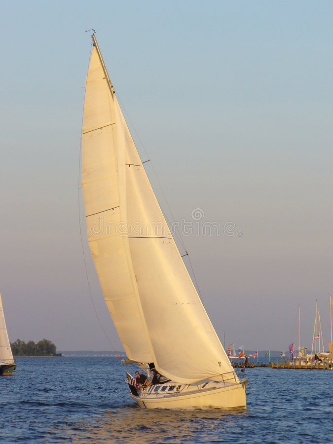Navigation de port d'Annapolis image stock