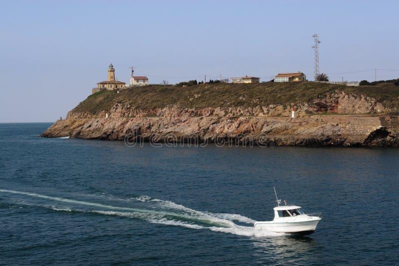 Navigation de yacht image libre de droits