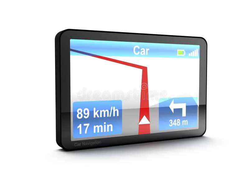 Download Navigation device stock illustration. Image of turn, screen - 17516735