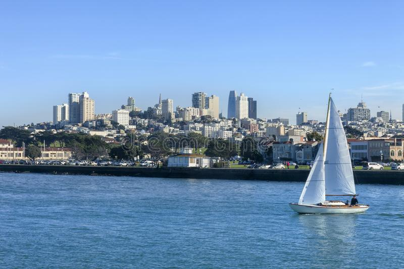 Navigation San Francisco Bay 3 image libre de droits