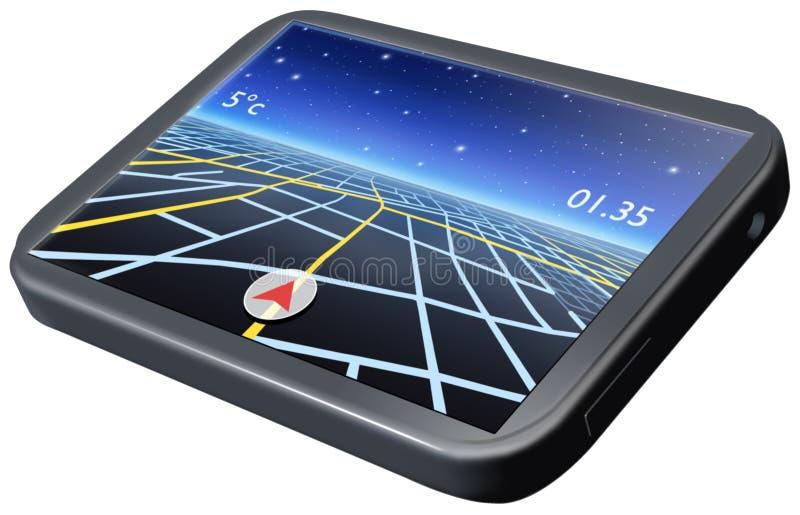 Navigation System stock illustration