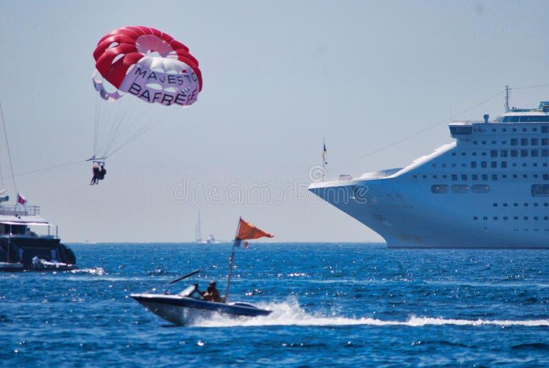 navigation, véhicule, mer, sports, bateau, vent, revêtement, revêtement d'océan image libre de droits