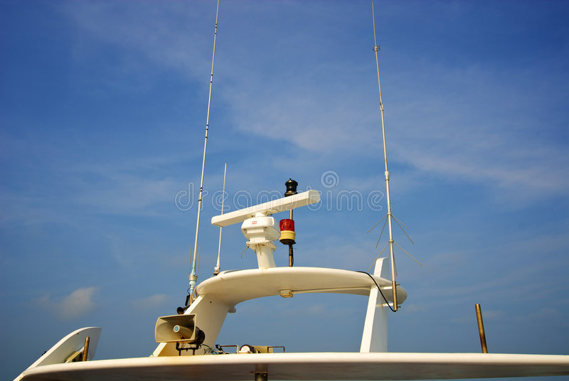 Navigationsanlage stockbild