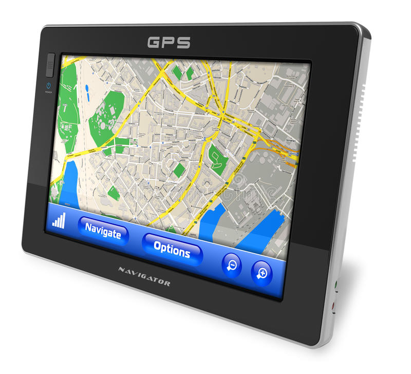 Navigatore di GPS royalty illustrazione gratis