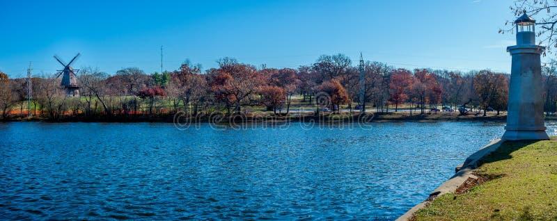 Navigazione del fiume di Fox da luce e da vento immagine stock