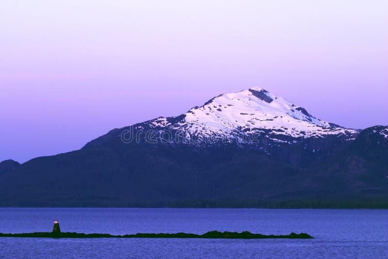 Download Navigazione Del Passaggio Interno Immagine Stock - Immagine di alaska, dusk: 206171