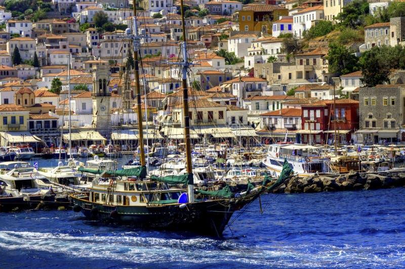 Navigazione delle isole greche fotografia stock libera da diritti