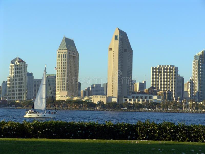 Navigazione di San Diego immagine stock libera da diritti