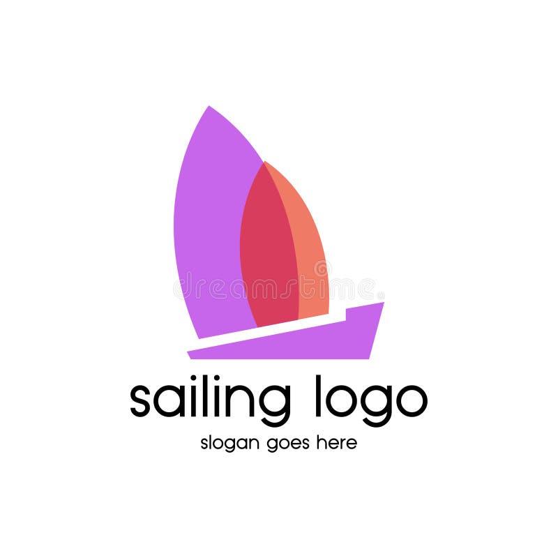 Navigazione Logo Vector illustrazione di stock