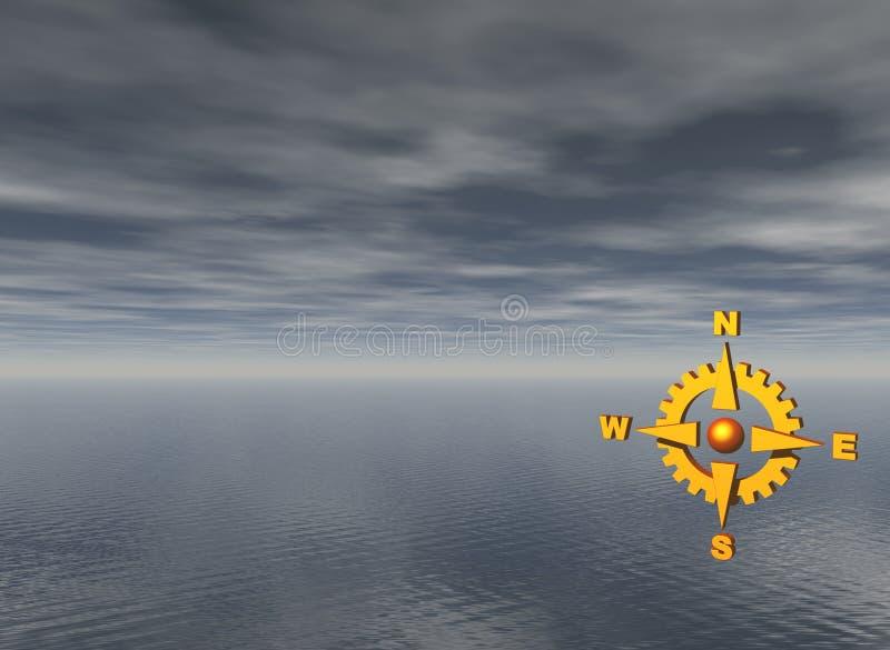 Navigeer vector illustratie