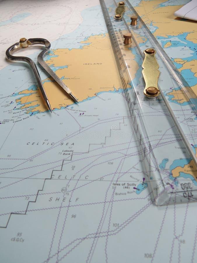 navigering arkivfoton