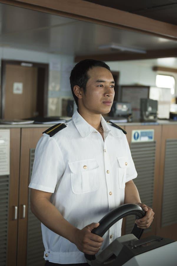 Navigering på havet royaltyfri bild