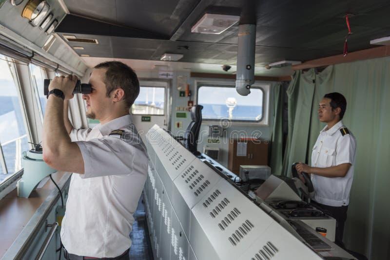 Navigering på havet arkivfoton