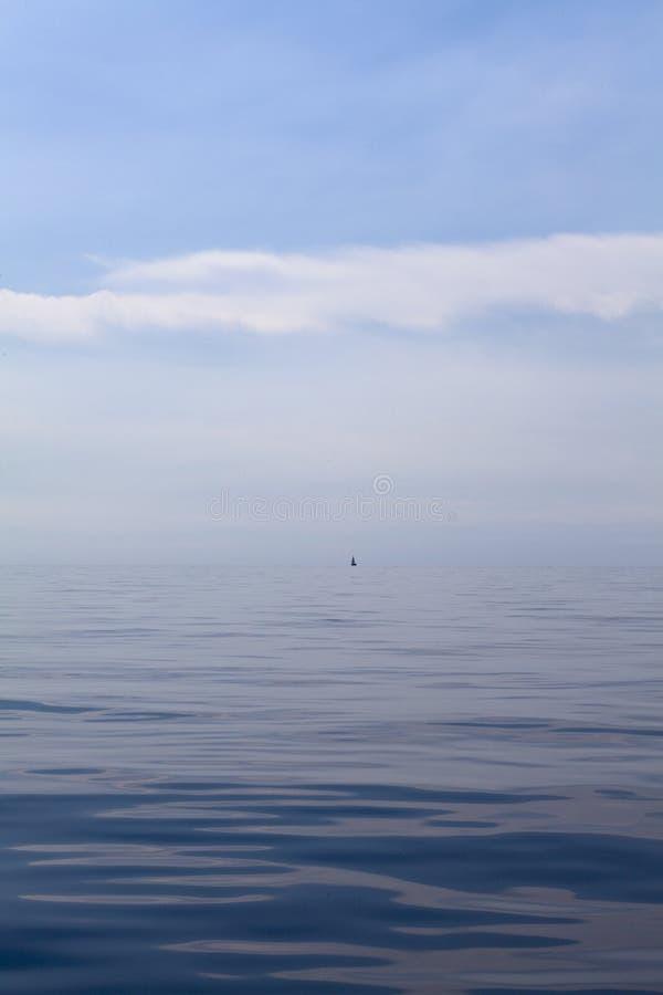 Naviguant le voyage loin  photographie stock