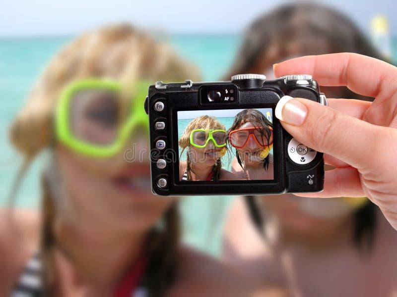 Naviguer au schnorchel tropical photo libre de droits