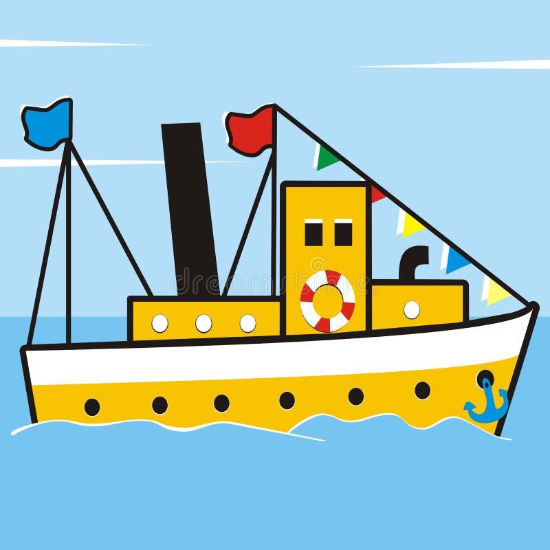 Navio ilustração stock