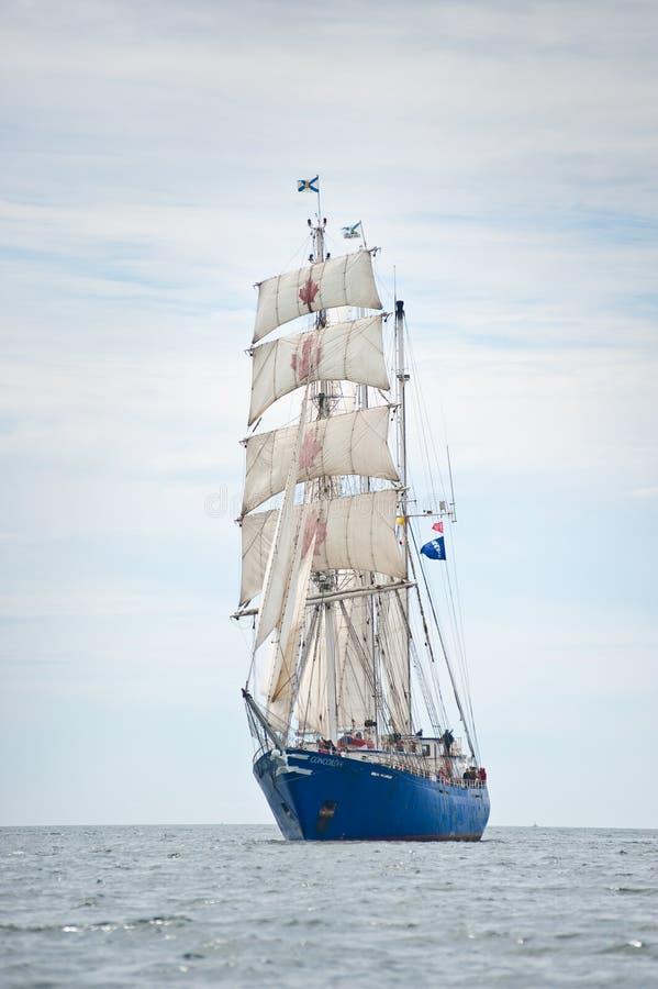 Navio alto Concordia fotos de stock royalty free