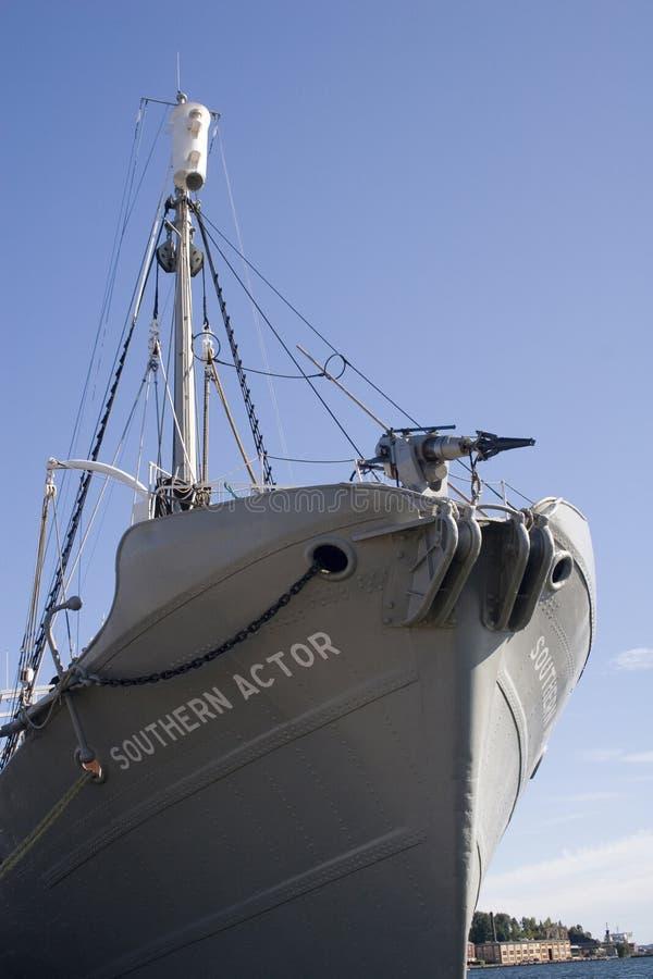 Navio da caça da baleia imagens de stock
