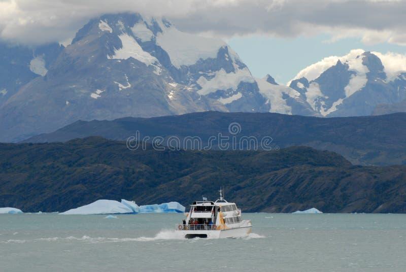 Navio da excursão de Argentina fotos de stock royalty free