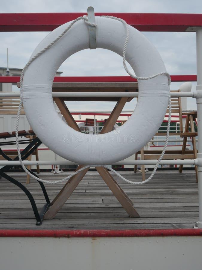 Navio da salva-vidas imagem de stock