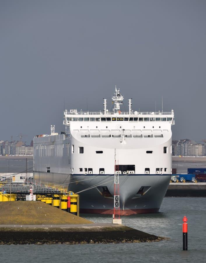 Navio de carga Celine fotografia de stock