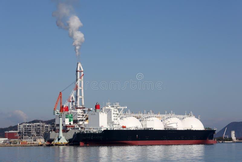 Navio de carga do LPG foto de stock royalty free