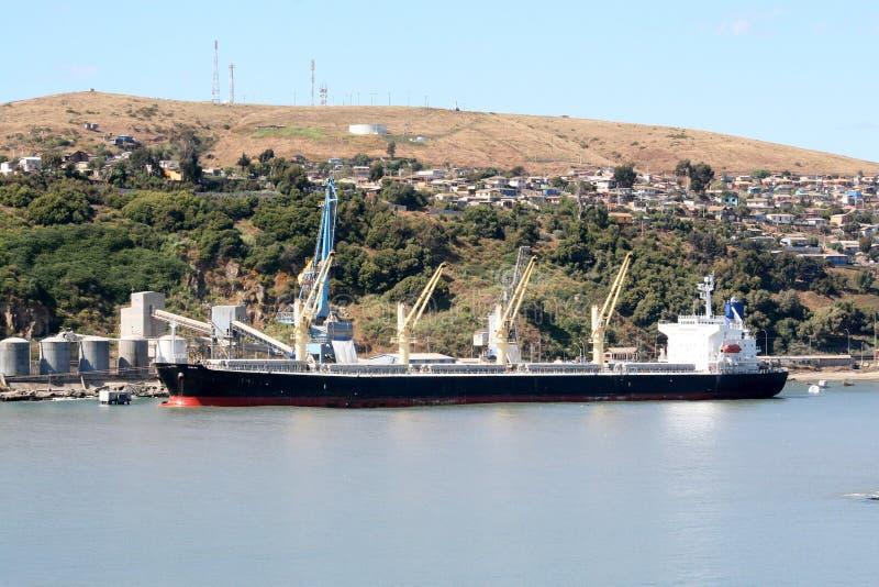 Navio de carga geral fotografia de stock