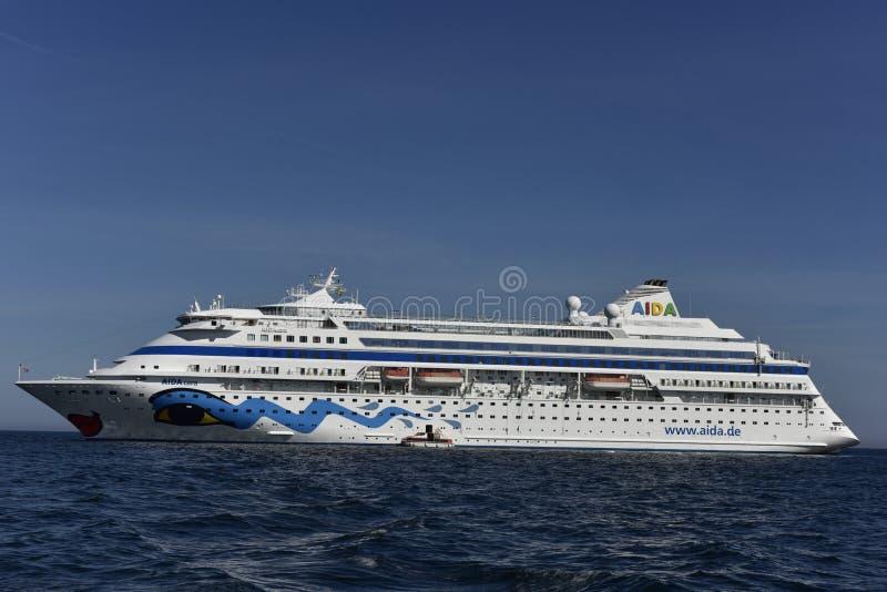 Navio de cruzeiros Aida Cara fotografia de stock royalty free