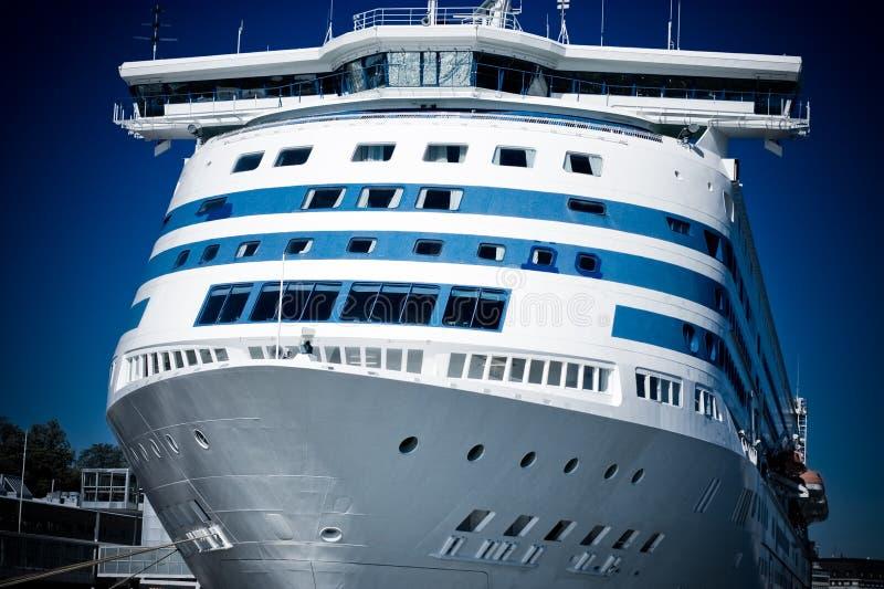 Navio de cruzeiros grande fotos de stock royalty free