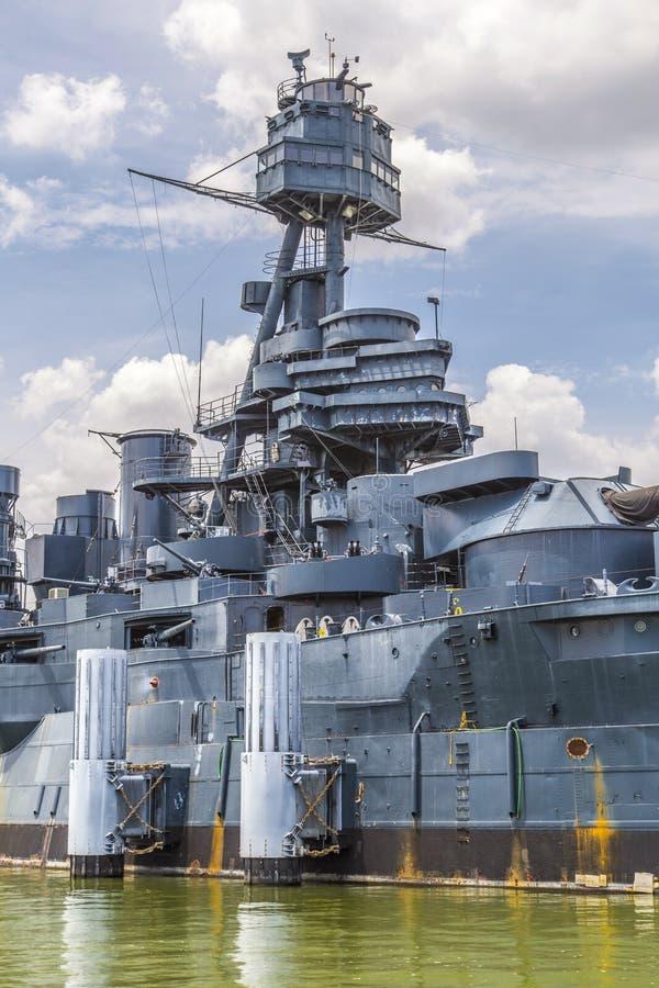 A navio de guerra famosa de Dreadnought imagem de stock royalty free