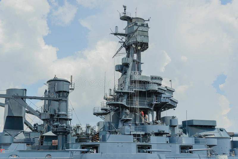 A navio de guerra Texas imagem de stock