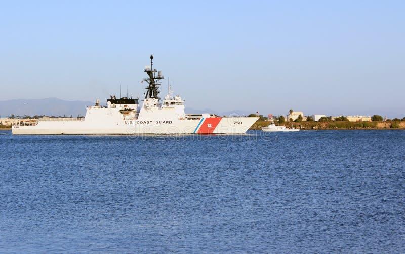 Navio de patrulha do protetor de costa dos E.U. imagem de stock royalty free