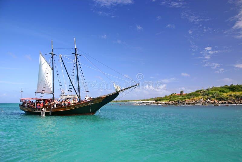 Navio de pirata imagens de stock royalty free