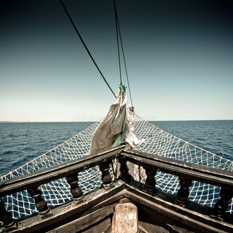 Navio de pirata imagem de stock royalty free