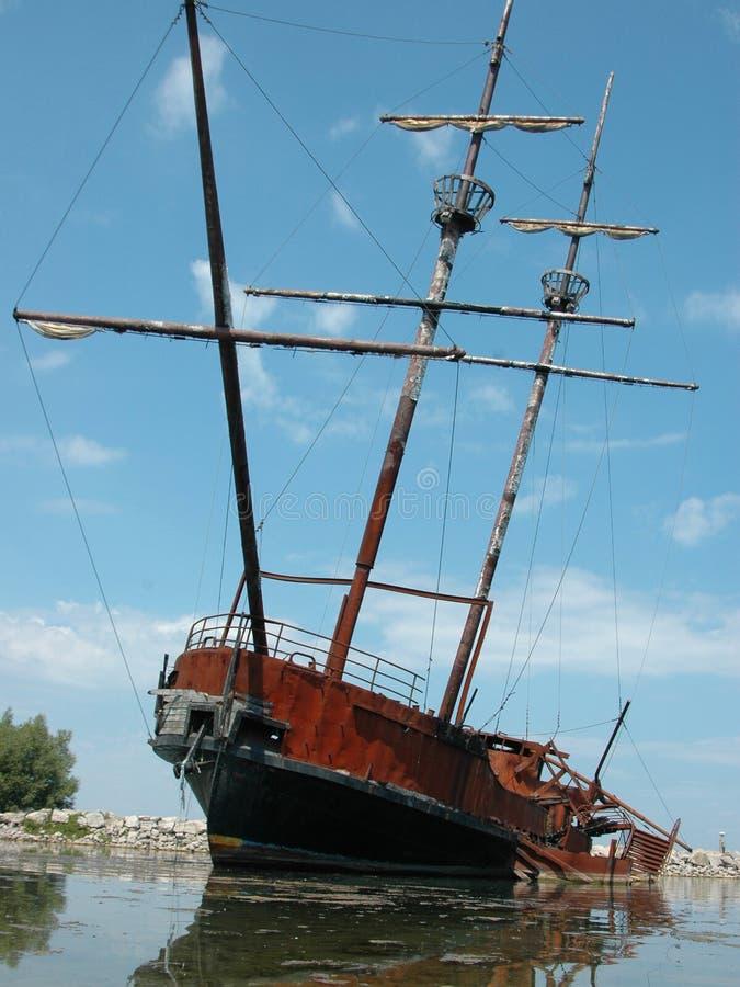 Navio de pirata fotos de stock royalty free