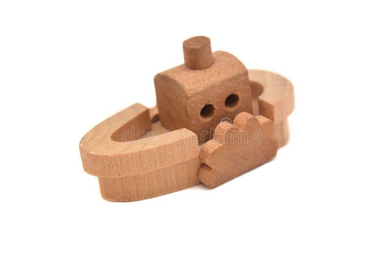 Navio do brinquedo foto de stock