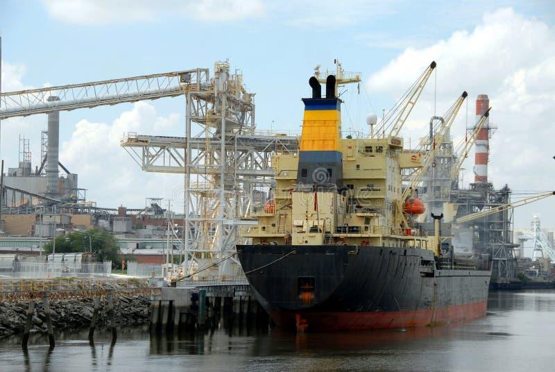 Navio do cargueiro fotografia de stock