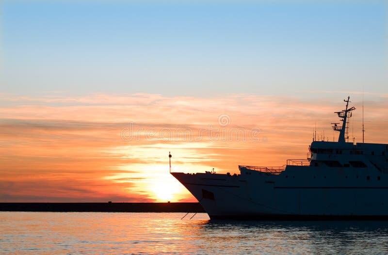 Navio do mar imagens de stock