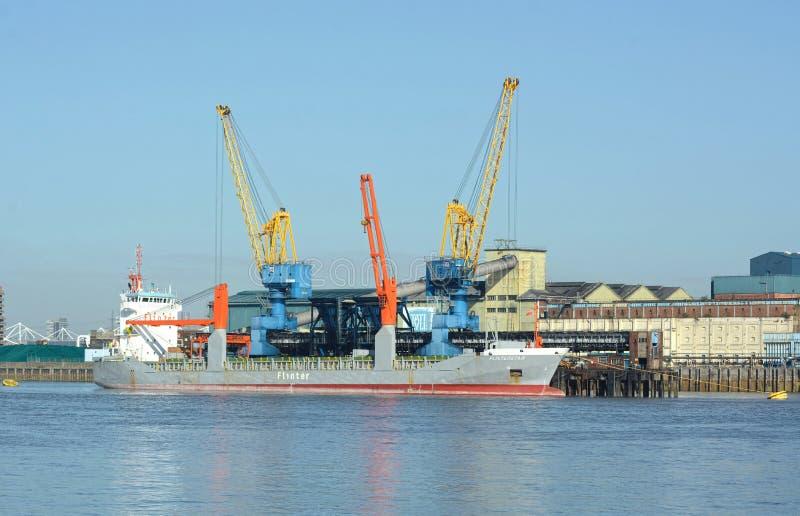 Navio holandês Flinterstar do cargueiro antes de afundar fotos de stock royalty free