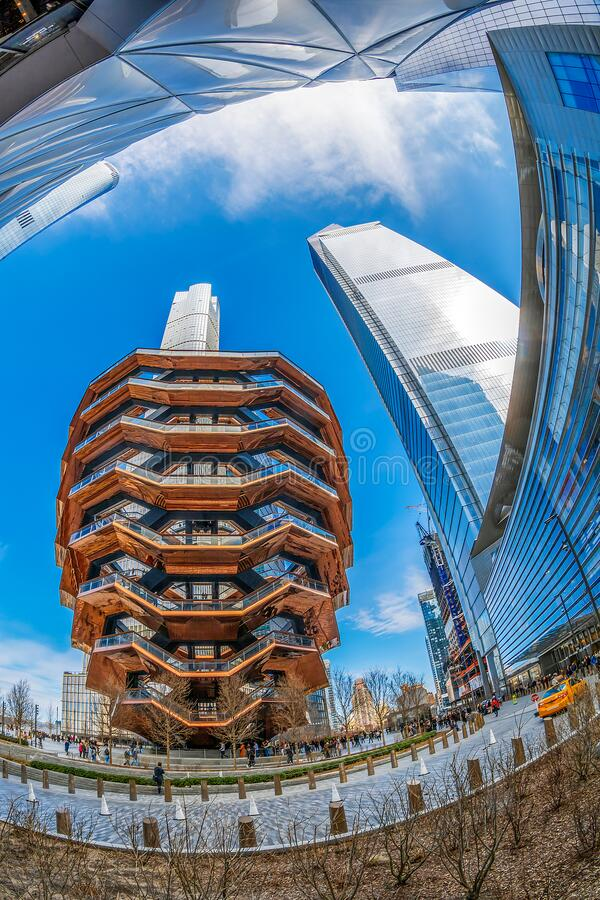 Navio, Manhattan, Nova Iorque, EUA imagens de stock