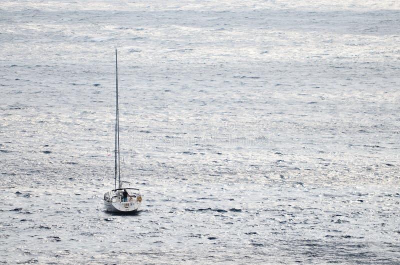 Navio no mar imagem de stock royalty free