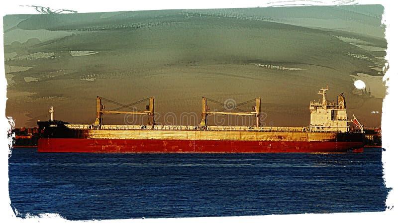 Navio ou cargueiro de carga fotos de stock royalty free