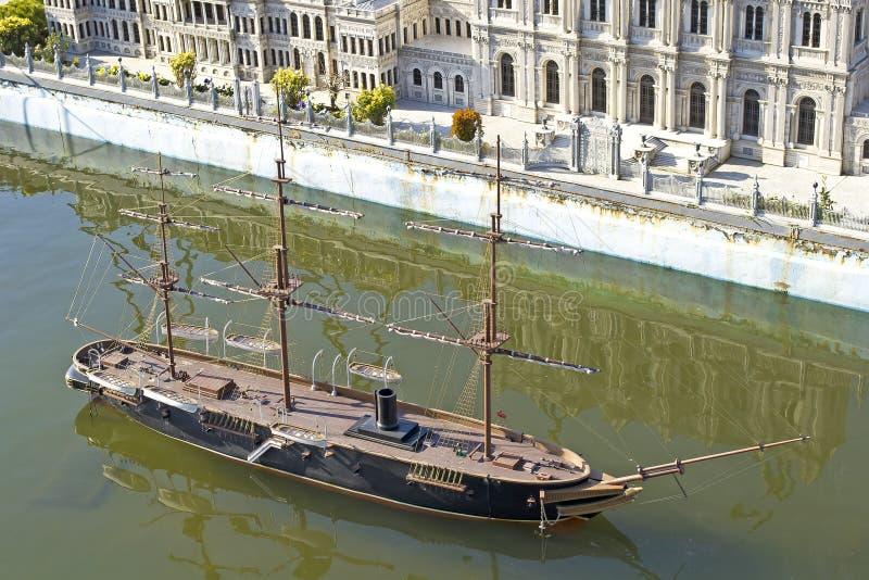 Navio velho do Dutch imagens de stock