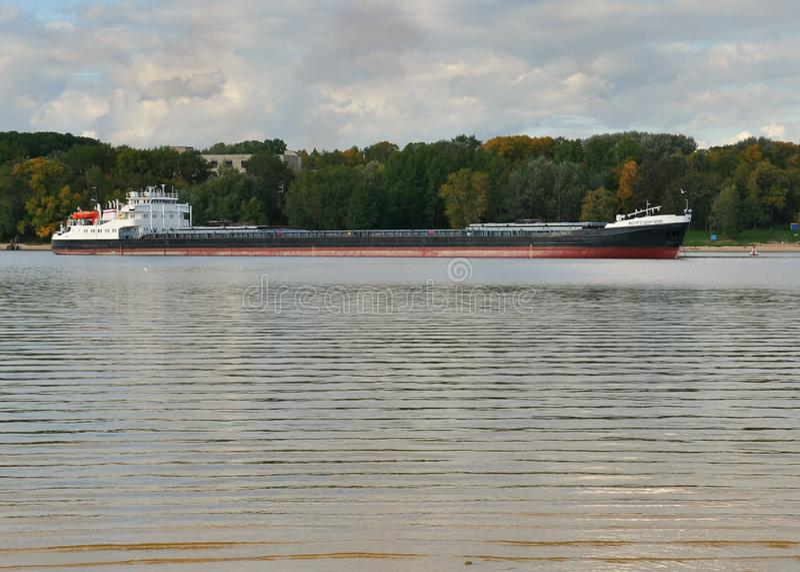 navio Volga-Don 5051 da Seco-carga fotografia de stock royalty free