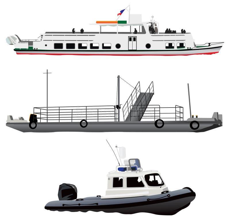 Navios ilustração stock