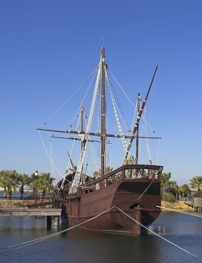 Navios de Christopher Columbo fotografia de stock