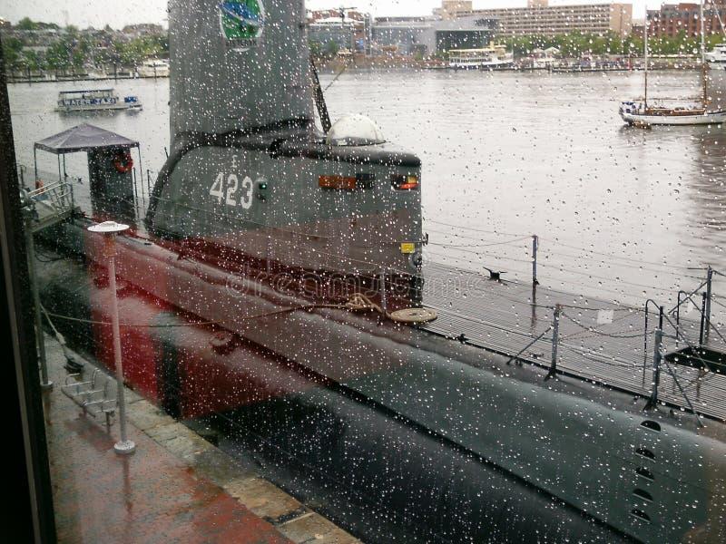 Navios históricos em Baltimore foto de stock royalty free